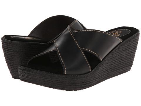 Sbicca - Pierside (Black) Women's Wedge Shoes