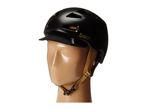 Bern - Melrose w/ Flip Visor (Satin Black) Snow/Ski/Adventure Helmet