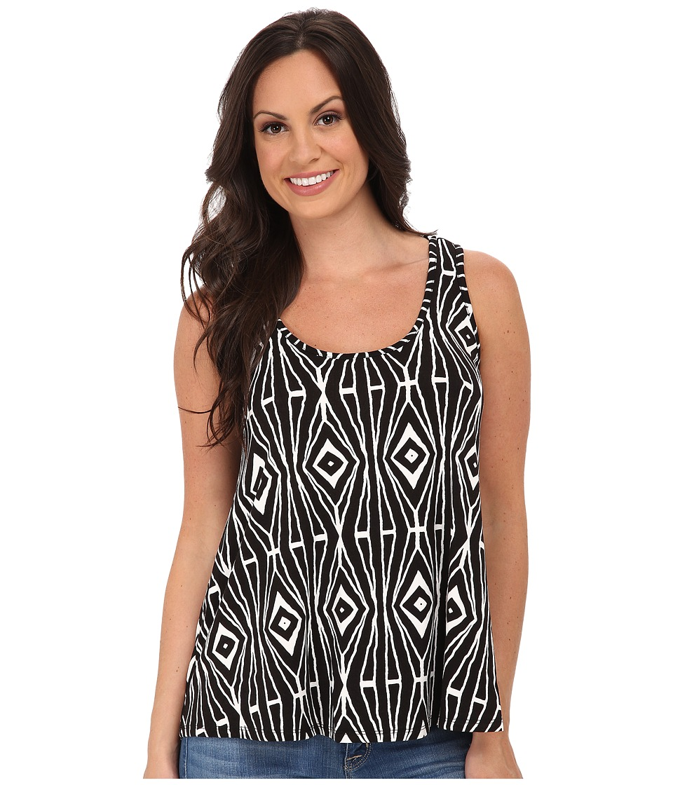 Stetson - Aztec Print Tank (Black) Women's Sleeveless