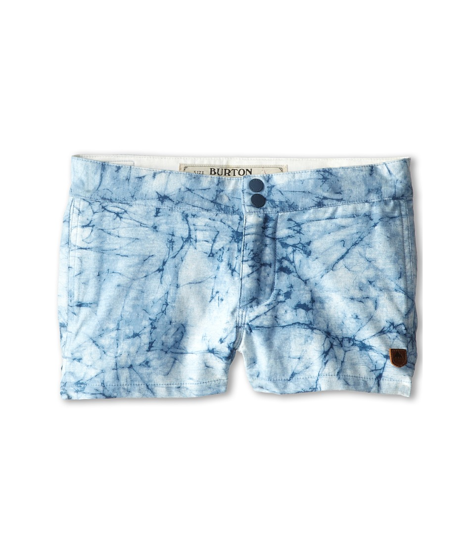 Burton Kids - Boardshort (Little Kids/Big Kids) (Indigo Stone Print) Girl's Shorts