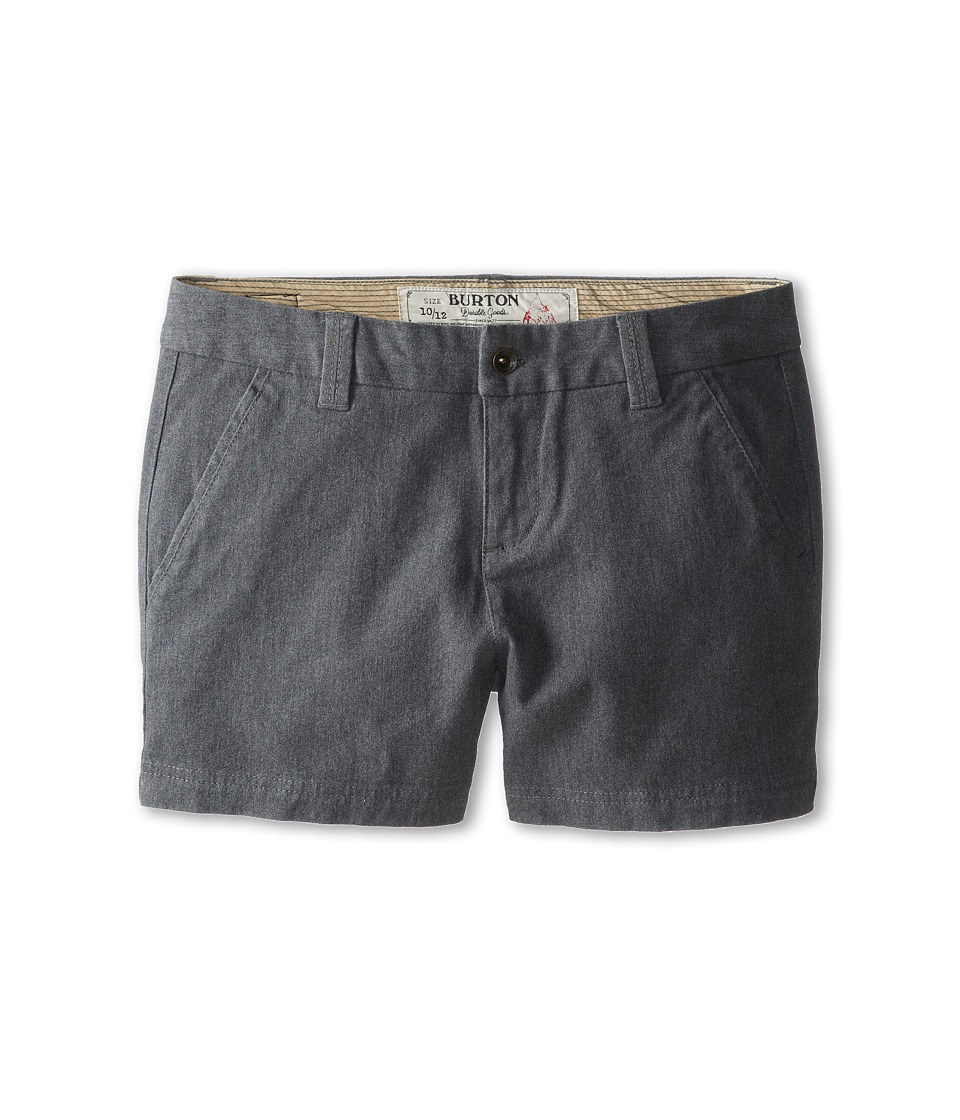 Burton Kids - Mid Short (Little Kids/Big Kids) (Gray Heather) Girl's Shorts