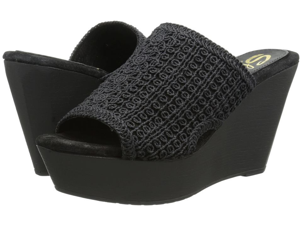 Sbicca - Morrobay (Black) Women's Wedge Shoes