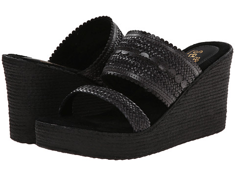 Sbicca - Anatase (Black) Women's Wedge Shoes