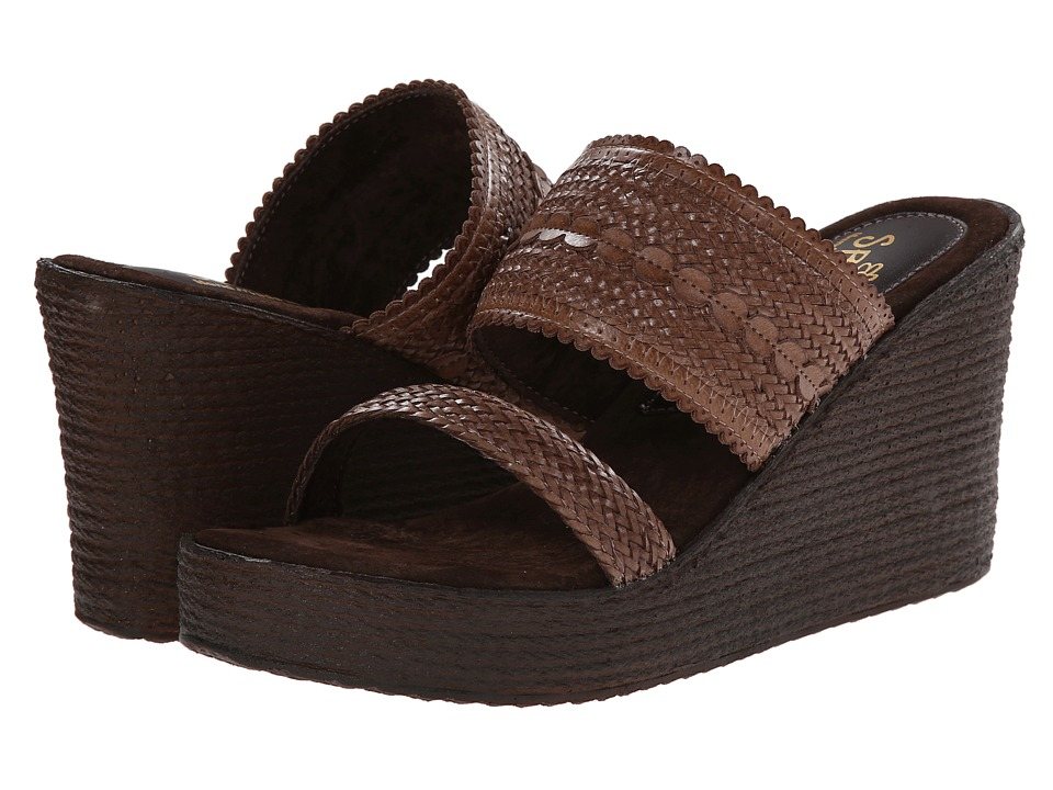 Sbicca - Anatase (Brown) Women's Wedge Shoes