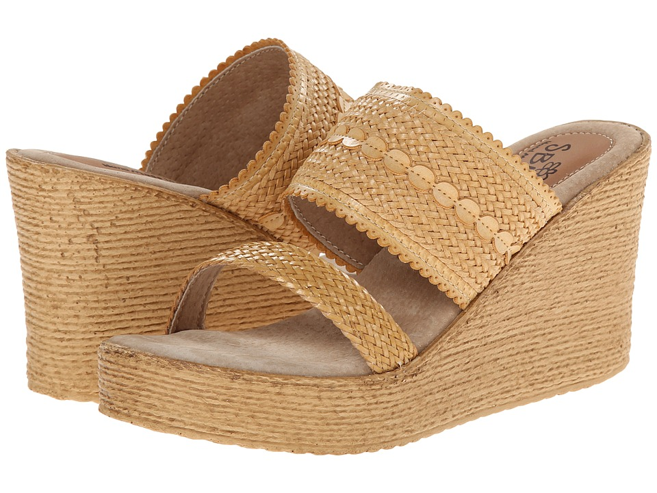Sbicca - Anatase (Natural) Women's Wedge Shoes