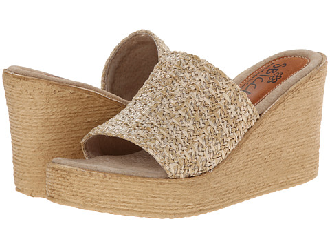 Sbicca - Malibu (Natural Multi) Women's Wedge Shoes