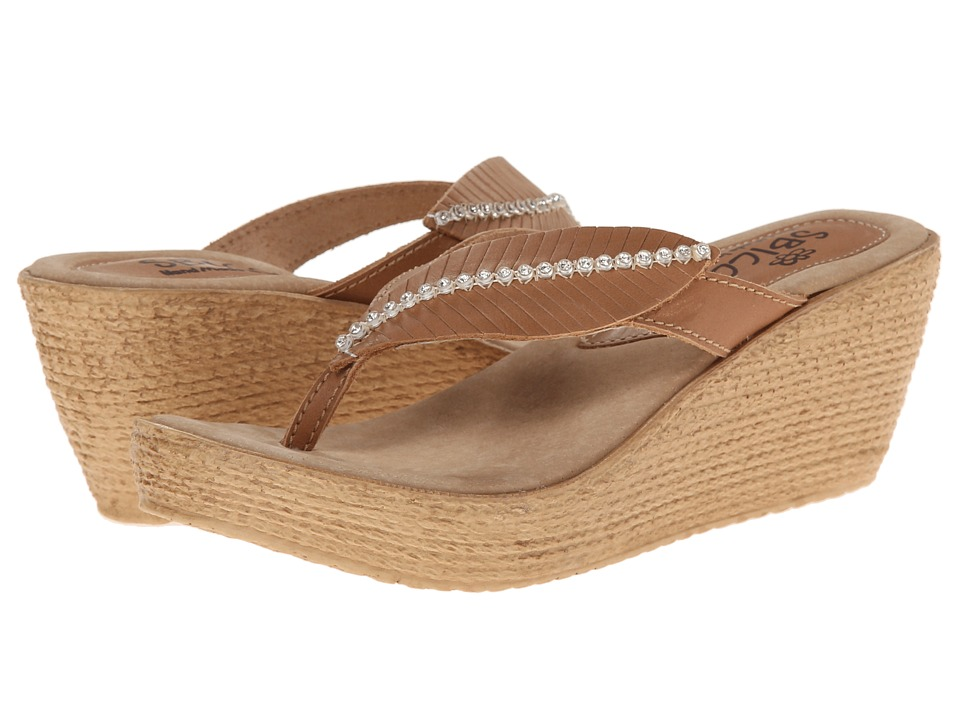 Sbicca - Recife (Nude) Women's Wedge Shoes