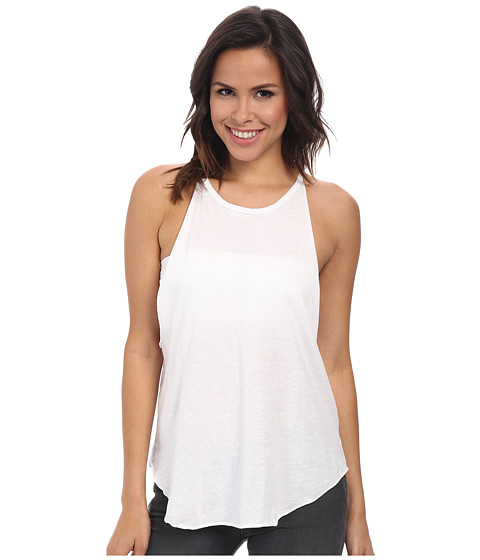 LNA - Bib Tank (White) Women's Sleeveless