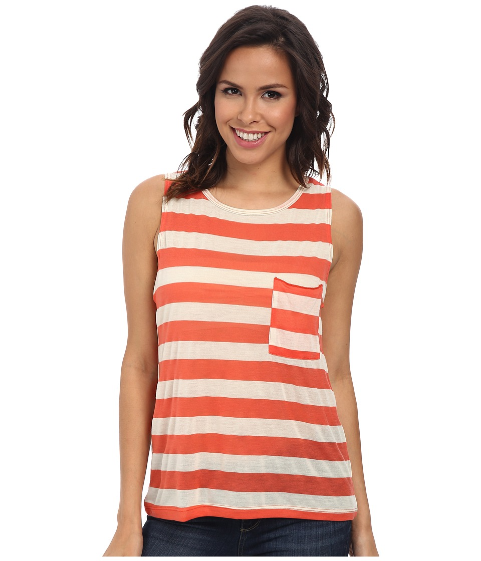 LNA - Reef Tank (Cream/Coral) Women's Sleeveless