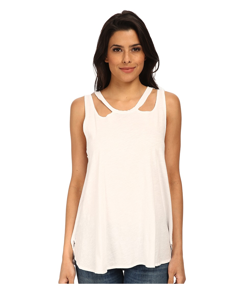 LNA - Aura Tank (White) Women's Sleeveless