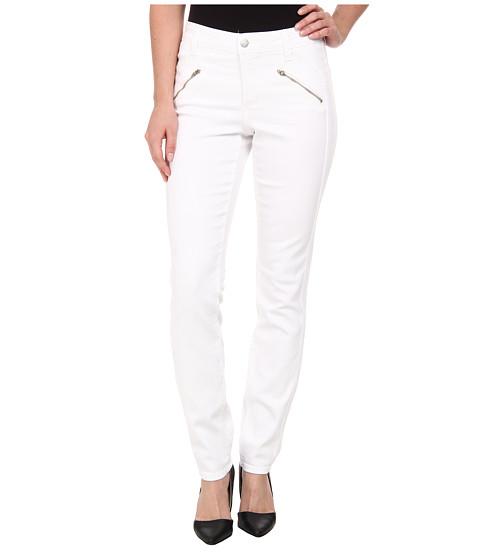 NYDJ - Alina Legging - Mesh in White (White) Women's Jeans