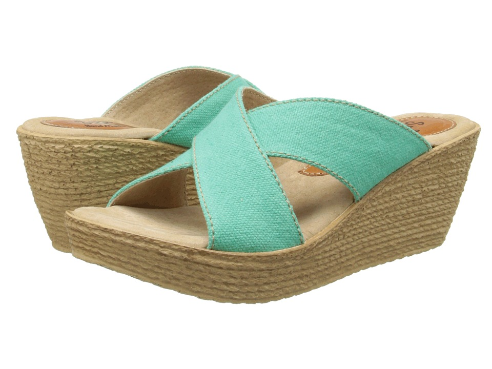 Sbicca - Admiral (Turquoise) Women's Wedge Shoes