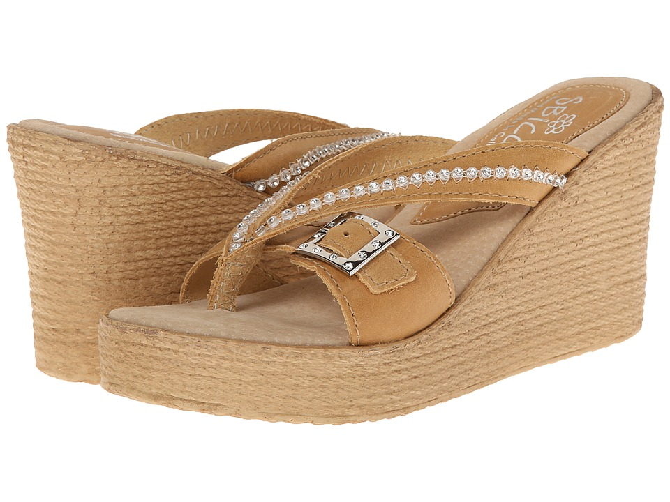 Sbicca - Pescadero (Natural) Women's Wedge Shoes