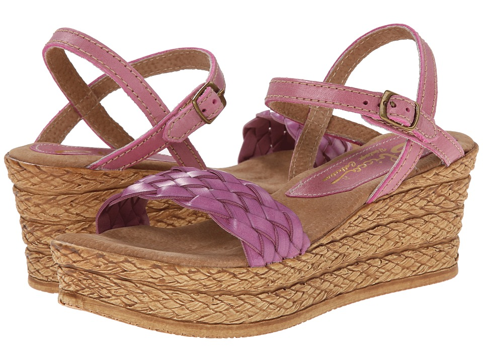 Sbicca - Agate (Orchid) Women's Wedge Shoes