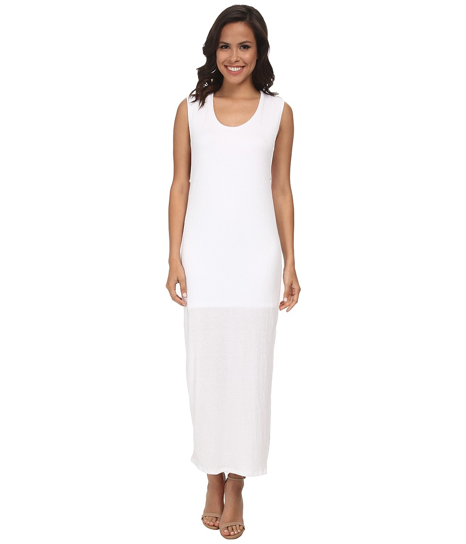 LNA - Rancho Column Dress (White) Women's Dress