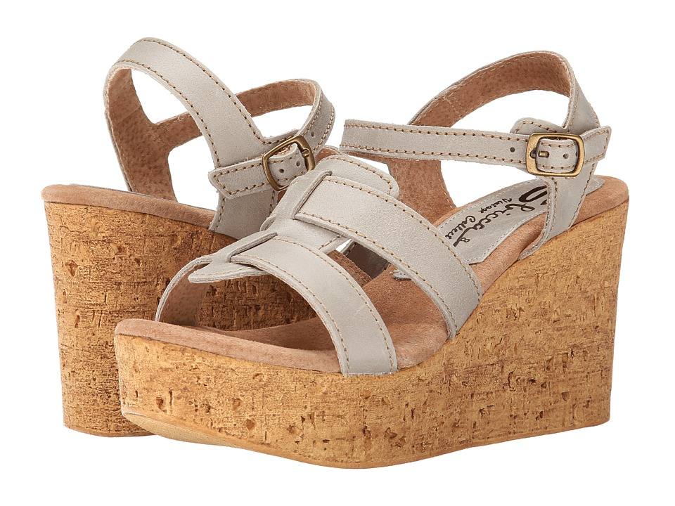 Sbicca - Seacliff (Stone) Women's Wedge Shoes