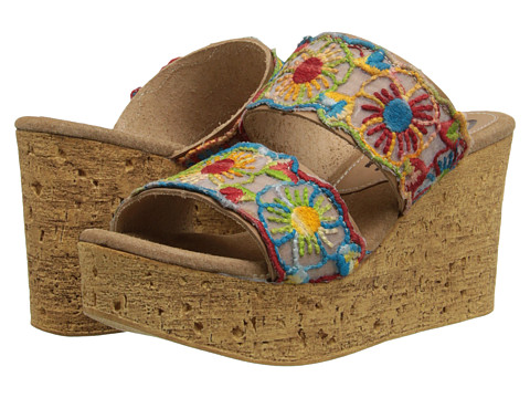 Sbicca - Renata (Natural Multi) Women's Wedge Shoes
