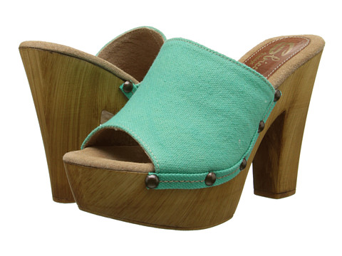 Sbicca - Marcy (Turquoise) High Heels