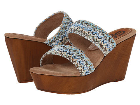 Sbicca - Lighthouse (Blue Multi) Women's Wedge Shoes