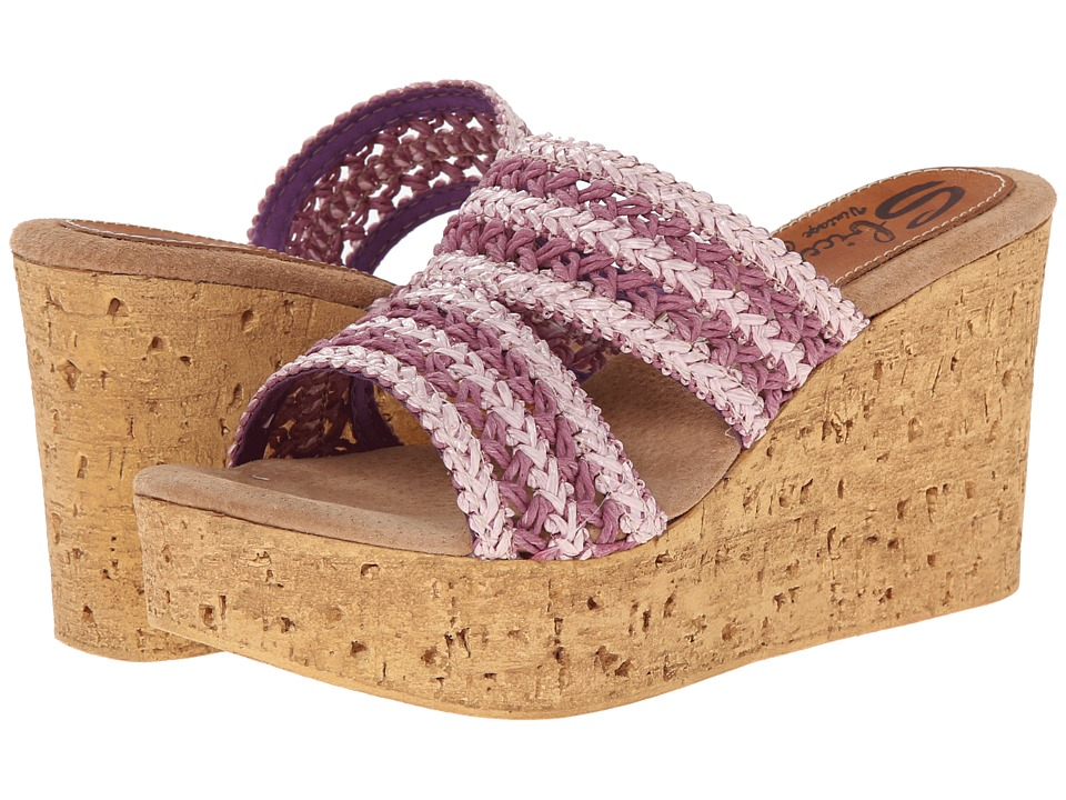 Sbicca - Viejo (Orchid) Women's Wedge Shoes