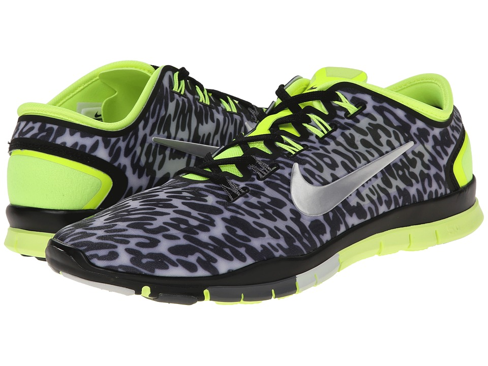 Nike - Free TR Connect 2 (Black/Pure Platinum/Volt/Metallic Silver) Women
