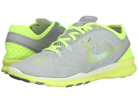 Nike - Free 5.0 Tr Fit 5 Breathe (Wolf Grey/Volt/White/Cyber) Women