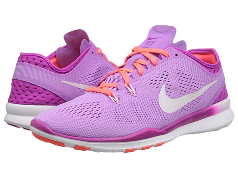 Nike - Free 5.0 Tr Fit 5 Breathe (Fuchsia Glow/Fuchsia Flash/Hot Lava/White) Women's Cross Training Shoes