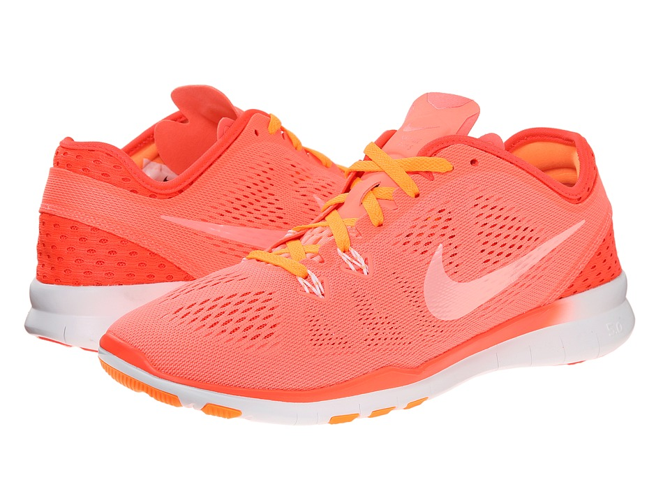 Nike - Free 5.0 Tr Fit 5 Breathe (Lava Glow/Bright Crimson/Bright Citrus/White) Women's Cross Training Shoes