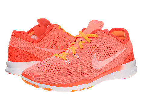 Nike - Free 5.0 Tr Fit 5 Breathe (Lava Glow/Bright Crimson/Bright Citrus/White) Women's Cross Training Shoes