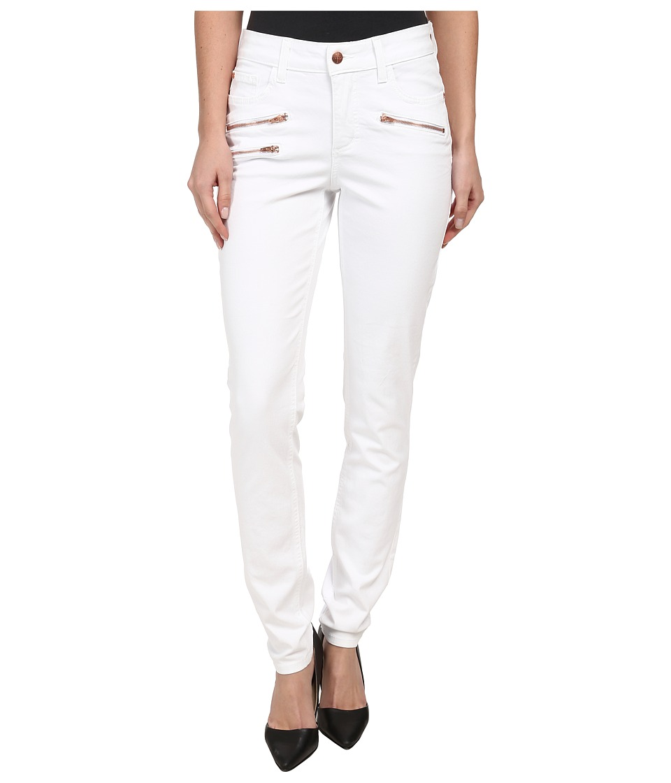 NYDJ - Ami Super Skinny - Twill Pants (Optic White) Women's Casual Pants