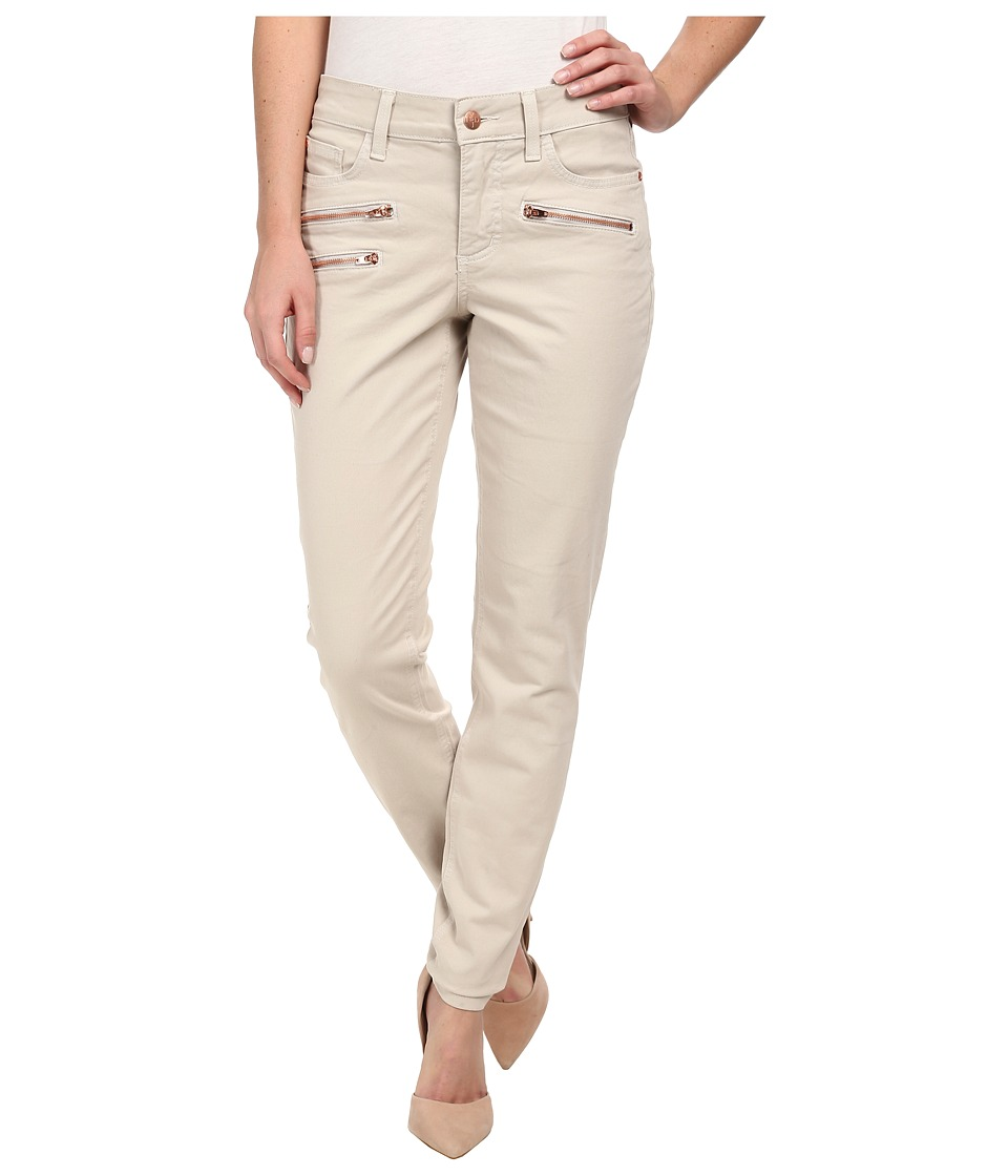 NYDJ - Ami Super Skinny - Twill Pants (Stone) Women's Casual Pants