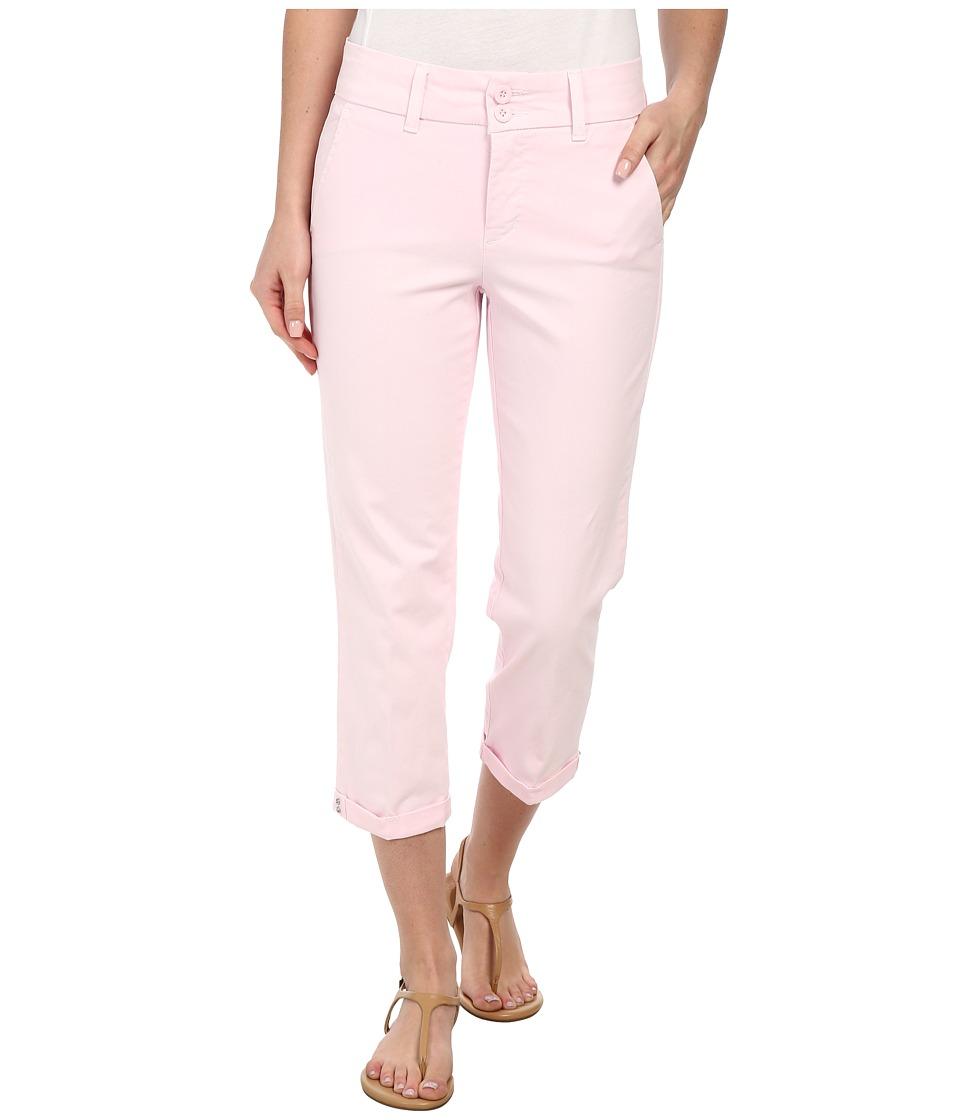 NYDJ - Izzie Capri - Twill Pants (Posey Pink) Women
