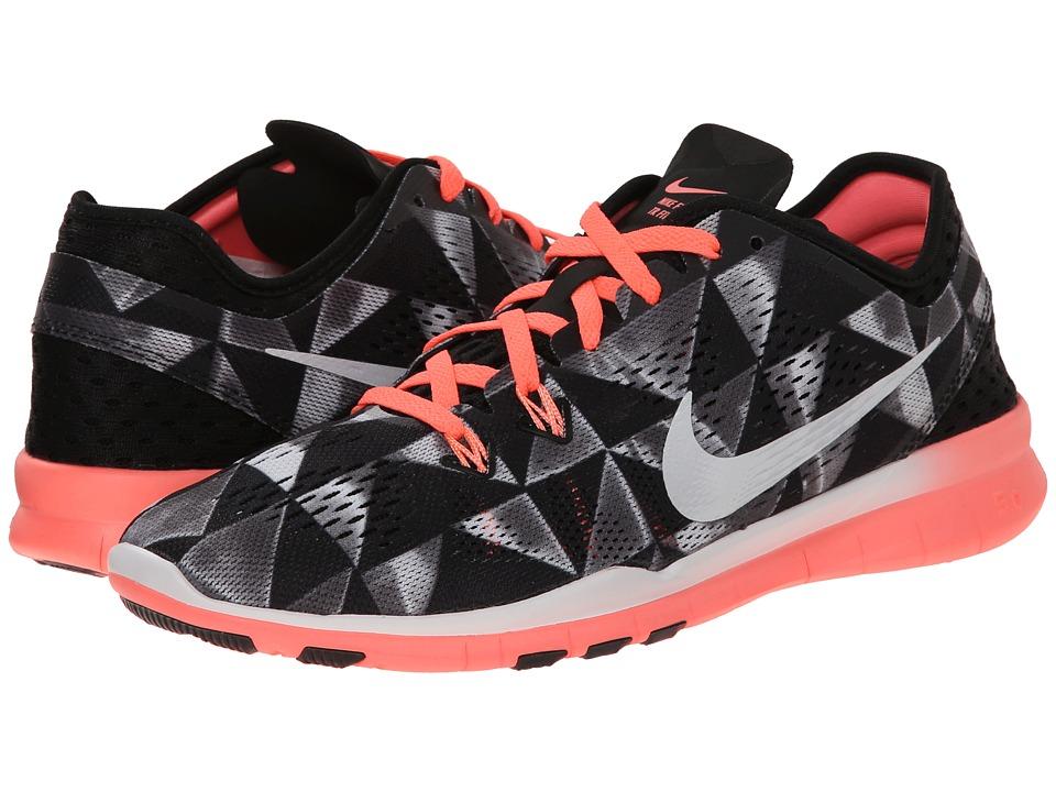 Nike - Free 5.0 TR Fit 5 PRT (Black/Lava Glow/White) Women