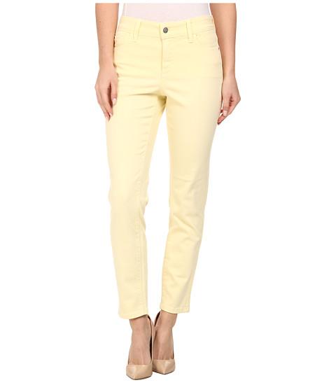 NYDJ - Clarissa Skinny Ankle Fine Line Twill (Pale Lemon) Women's Jeans