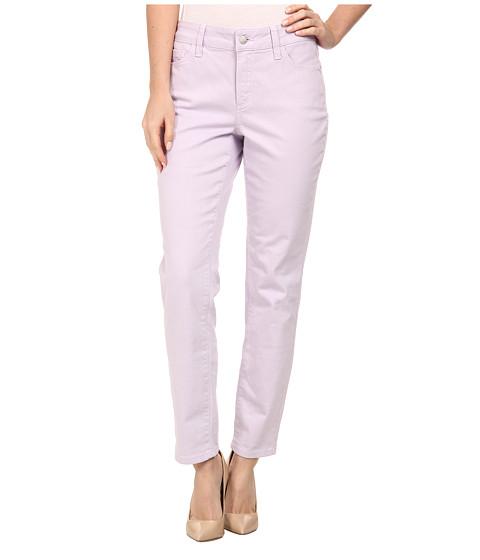 NYDJ - Clarissa Skinny Ankle Fine Line Twill (Lilac Frost) Women's Jeans