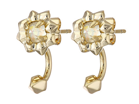 Kendra Scott - Abby Ear Jacket (Iridescent Clear Glass) Earring