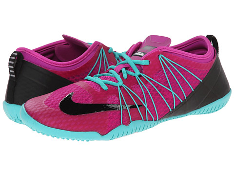 Nike - Free 1.0 Cross Bionic 2 (Fuchsia Flash/Light Retro/White/Black) Women