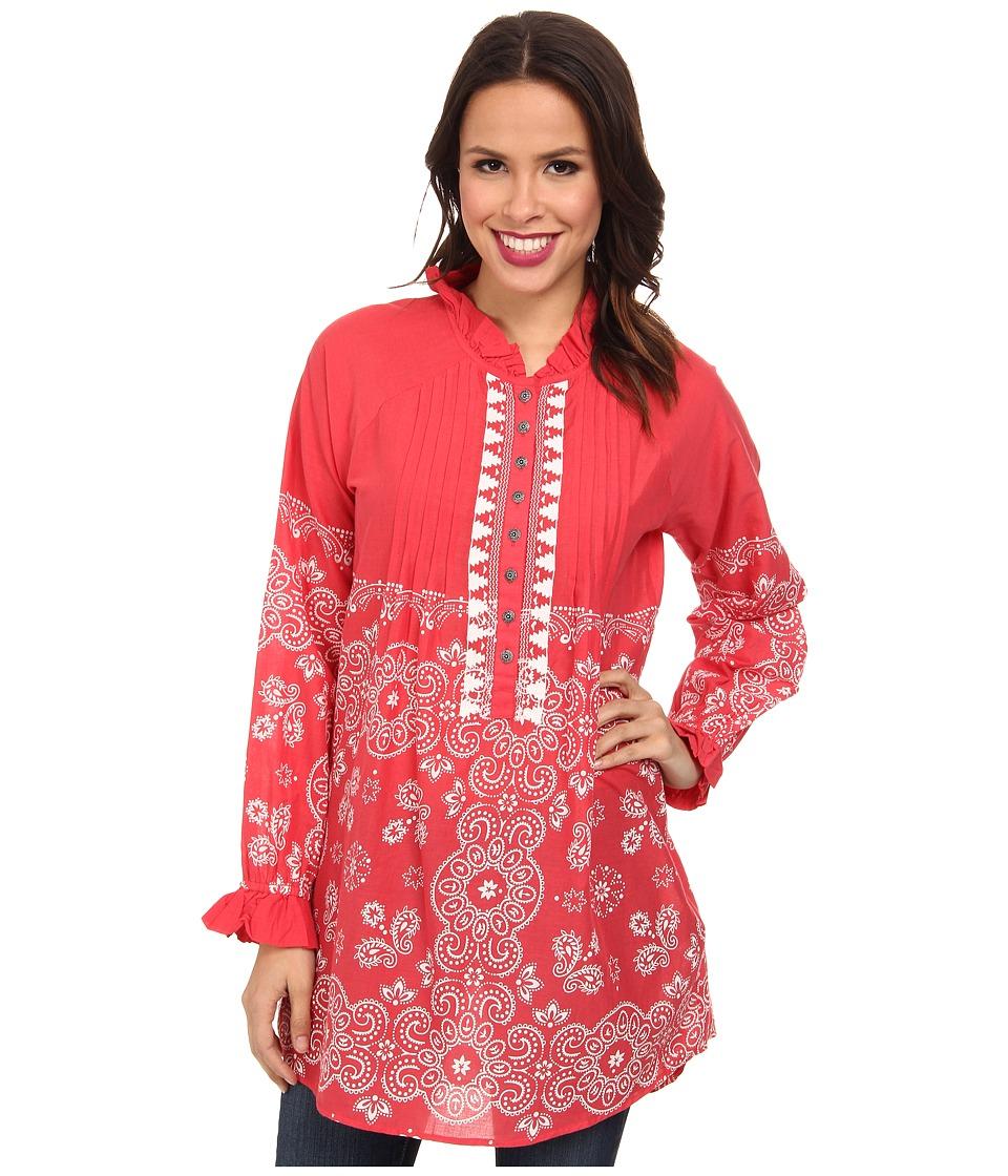 Tasha Polizzi - Bandana Tunic (Red) Women's Clothing