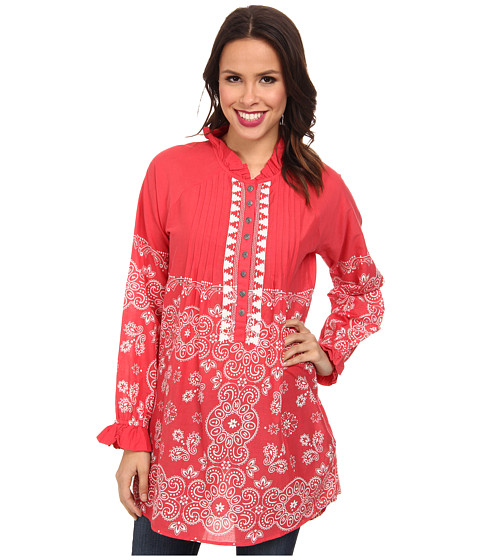 Tasha Polizzi - Bandana Tunic (Red) Women
