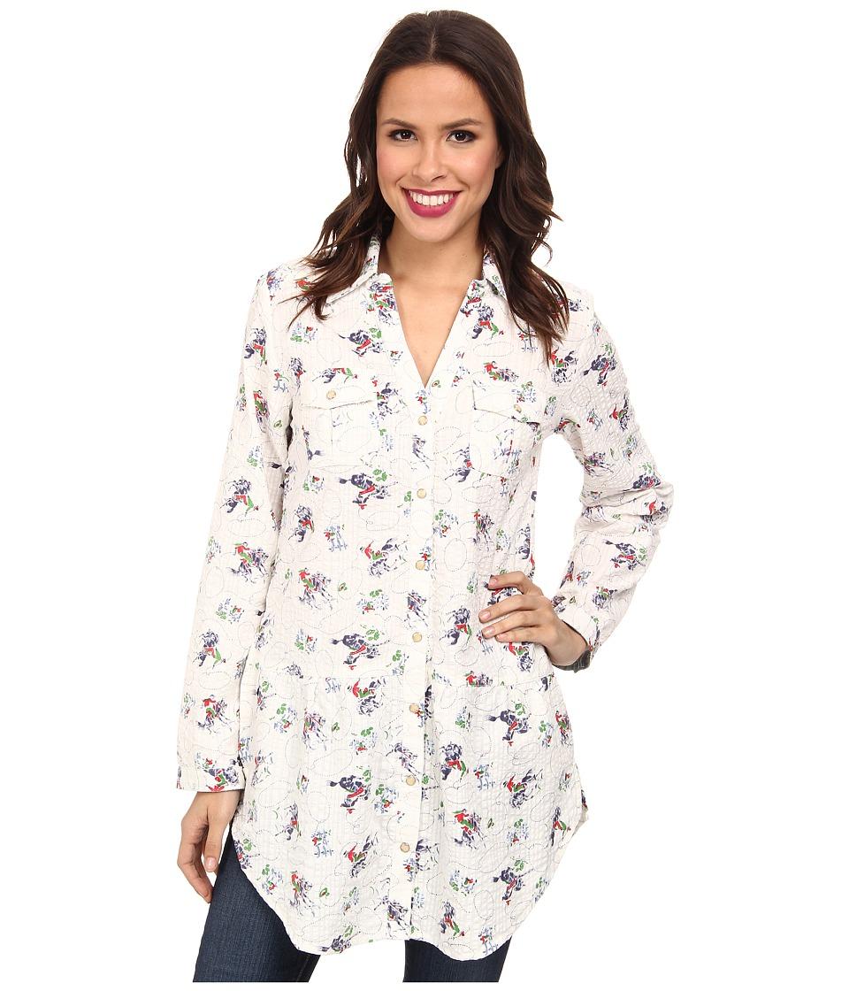 Tasha Polizzi - Four Corners Tunic (Cream Multi) Women's Clothing