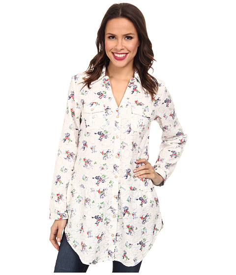 Tasha Polizzi - Four Corners Tunic (Cream Multi) Women
