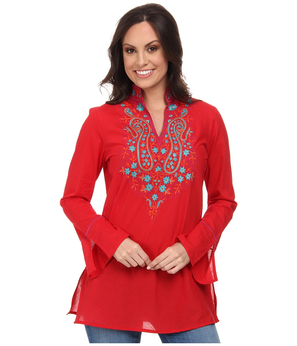 Tasha Polizzi - Trade Tunic (Henna) Women's Blouse