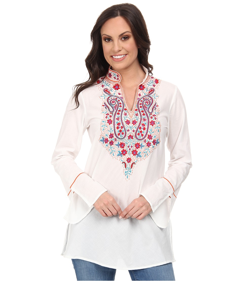 Tasha Polizzi - Trade Tunic (White) Women's Blouse