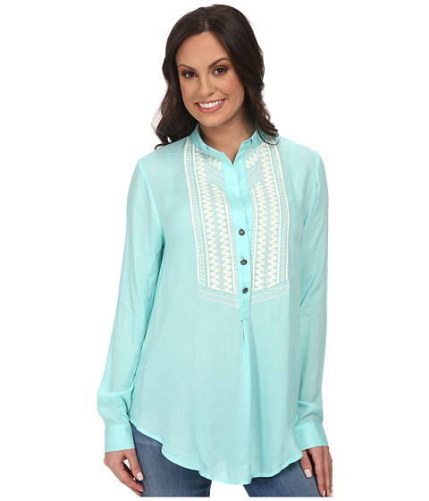 Tasha Polizzi - Market Shirt (Blue) Women's Blouse