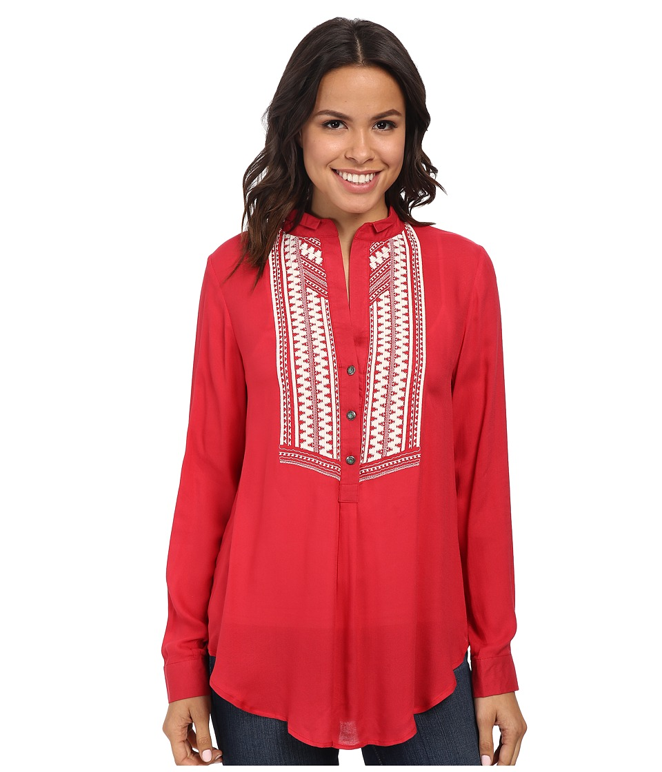 Tasha Polizzi - Market Shirt (Henna) Women's Blouse