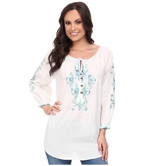 Tasha Polizzi - Peasant Blouse (White) Women