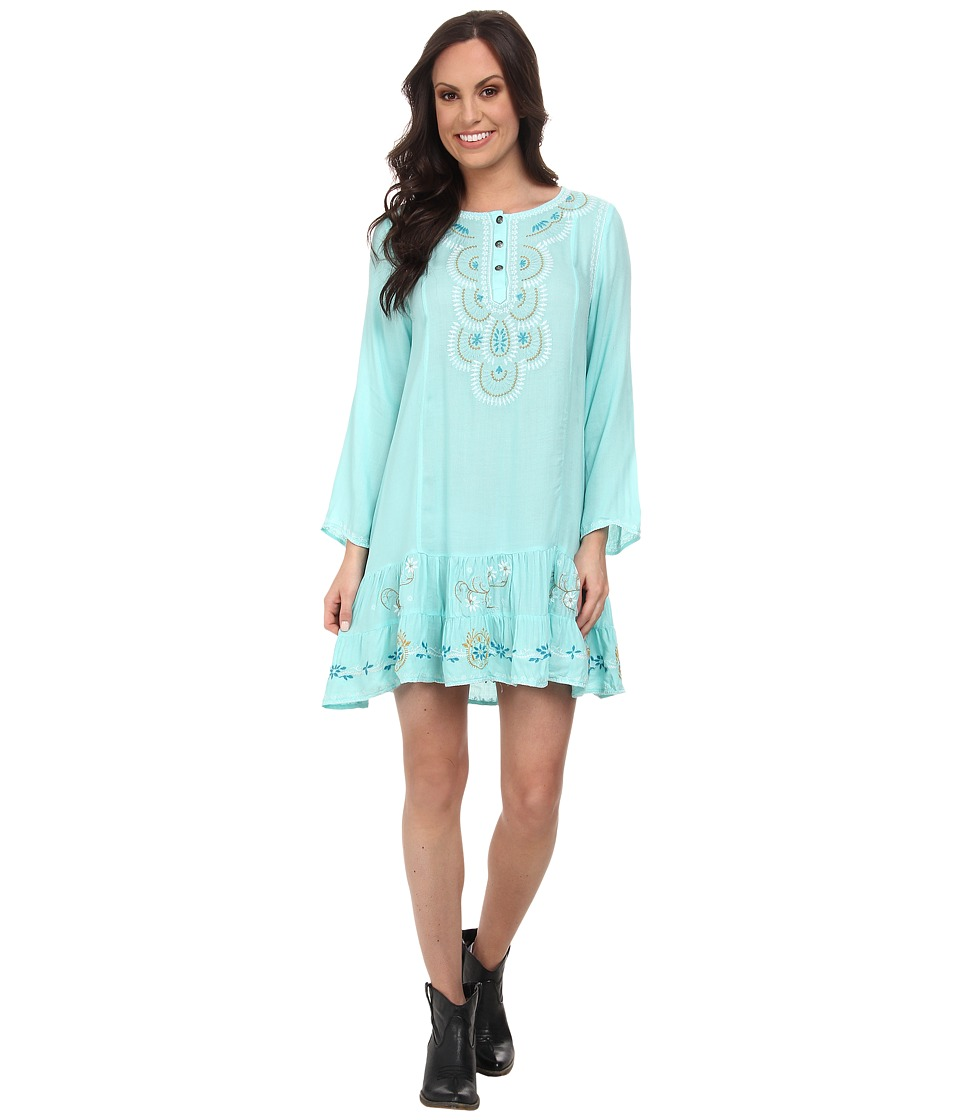 Tasha Polizzi - Anasazi Tunic (Blue) Women's Clothing