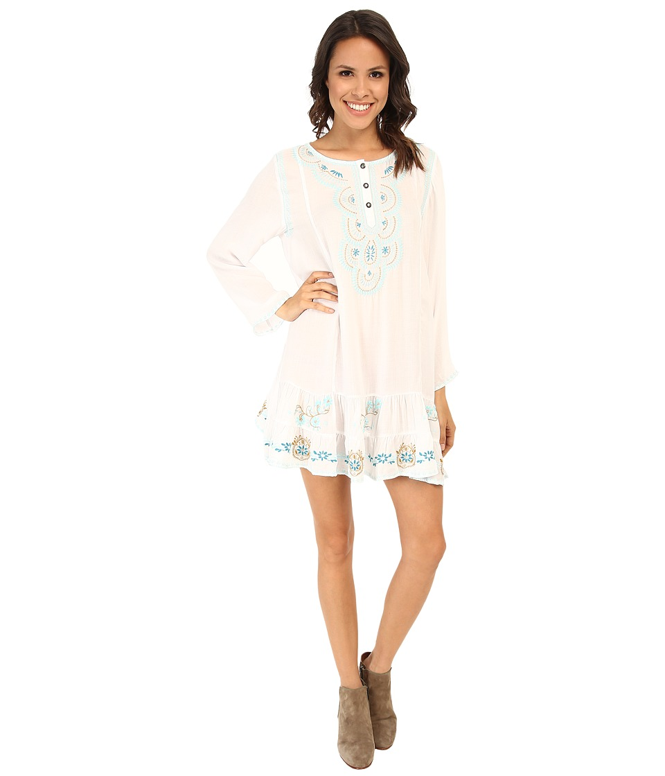 Tasha Polizzi - Anasazi Tunic (White) Women's Clothing