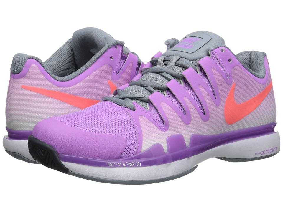 Nike - Zoom Vapor 9.5 Tour (Fuchsia Glow/Dove Grey/Hot Lava) Women