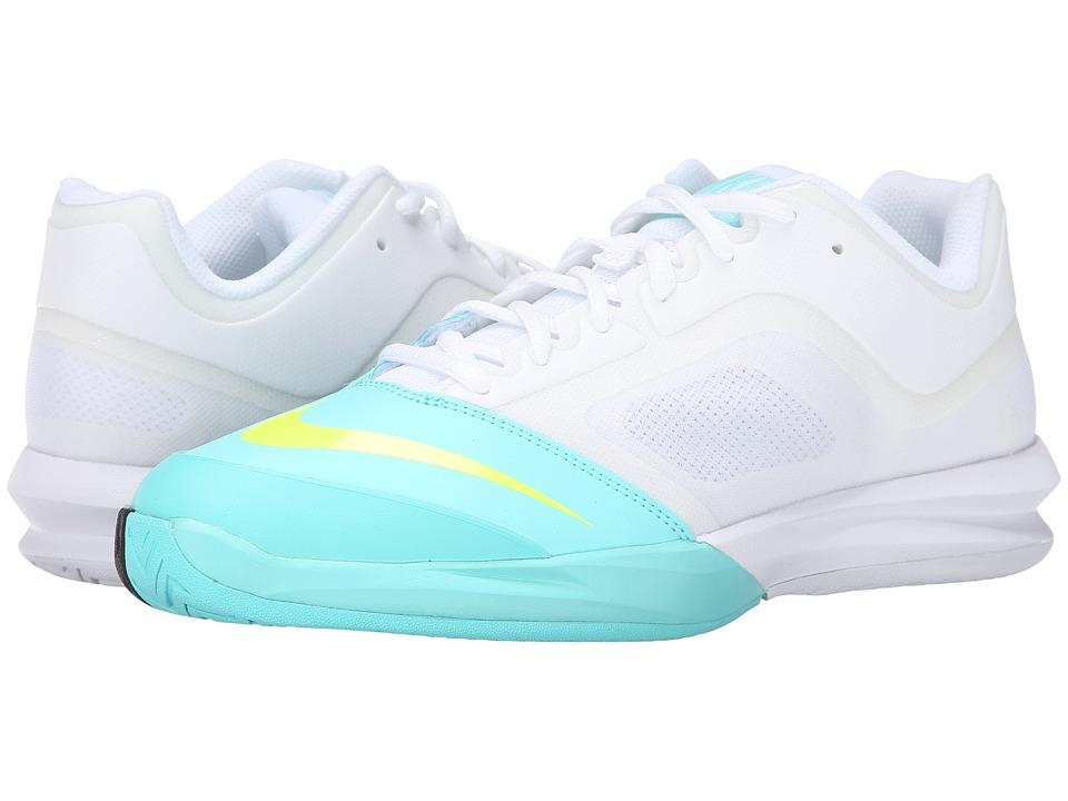 Nike DF Ballistec Advantage (White/Light Aqua/Classic Charcoal/Volt) Women